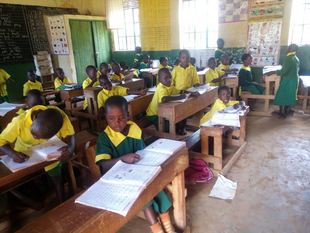 The Water Project : 3-kenya18058-students-in-class