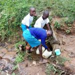 The Water Project: Sabane Primary School -  Fetching Water