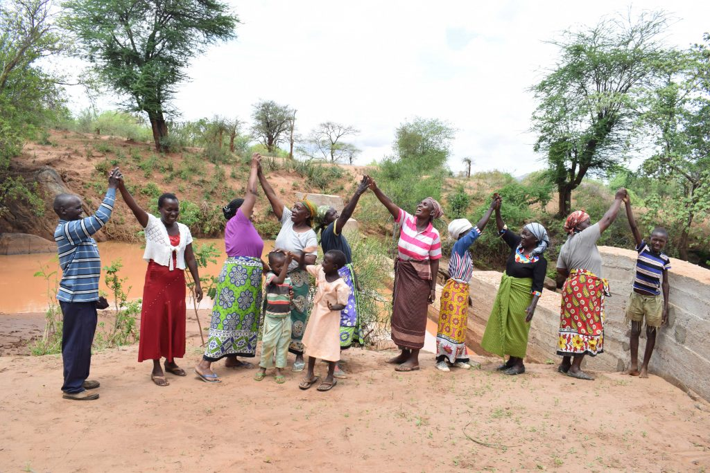 The Water Project : 30-kenya4767-finished-sand-dam