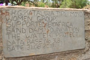 The Water Project : 31-kenya4767-finished-sand-dam