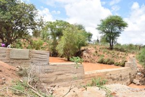 The Water Project : 32-kenya4767-finished-sand-dam