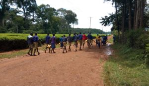 The Water Project:  Off To Fetch Water