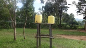 The Water Project:  Empty Hand Washing Stations