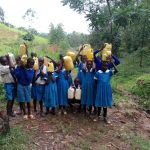 The Water Project: Sabane Primary School -  With Jerrycans