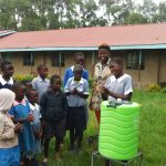 The Water Project: St. Antony Shijiko Primary School -  Hand Washing Training