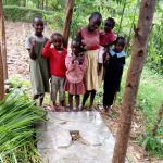 The Water Project: Shitungu Community, Mmbone Spring -  Finished Sanitation Platform