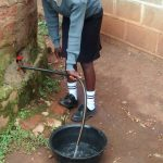 The Water Project: Erusui Secondary School -  Drawing Water From Church Tank