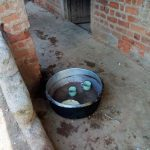 The Water Project: Madegwa Primary School -  Waiting For Water To Wash Utensils