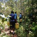 The Water Project: Gidagadi Secondary School -  Going To Fetch Water