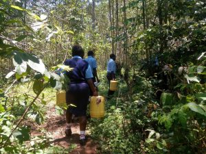 The Water Project : 7-kenya18072-going-to-fetch-water