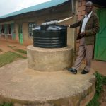 The Water Project: Mutsuma Secondary School -  Staff Water Tank