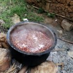 The Water Project: Shitaho Primary School -  School Lunch Being Cooked Outside