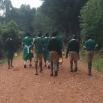 The Water Project: Chavakali Primary School -  Going To Fetch Water