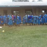 The Water Project: Sabane Primary School -  In Line For Lunch