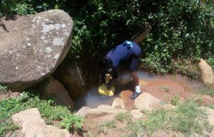 The Water Project : 8-kenya18072-fetching-water