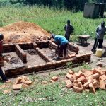 The Water Project: Muhudu Primary School -  Latrine Construction