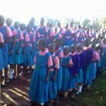 The Water Project: Mudete Primary School -  Waiting At Latrines