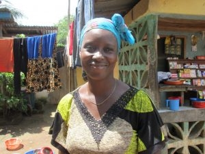 The Water Project:  Kadie Bangura