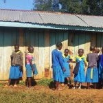 The Water Project: Munyanda Primary School -  Latrines