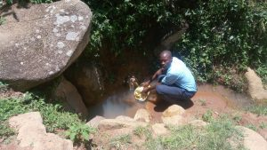 The Water Project : 9-kenya18072-fetching-water
