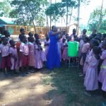 The Water Project: Irenji Primary School -  Hand Washing