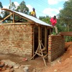 The Water Project: Shanjero Primary School -  Latrine Construction