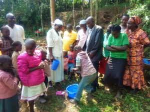 The Water Project : 9-kenya4742-hand-washing