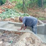 The Water Project: Futsi Fuvili Community B -  Construction