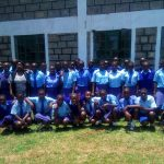 The Water Project: Eshisenye Girls' Secondary School -  Group Picture