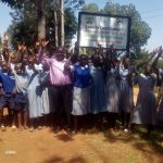 The Water Project: Emmaloba Primary School -  Headteacher And Students