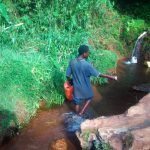 The Water Project: Shilakaya Community, Shanamwevo Spring -  Current Water Source