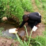 The Water Project: Shiyunzu Community, Imbukwa Spring -  Current Water Source