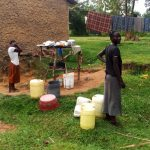 The Water Project: Ejinja Community -  Mary At Her Home