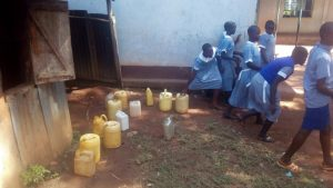 The Water Project:  Rush To Class After Getting Water