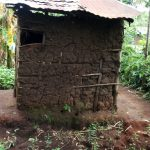 The Water Project: Shiyunzu Community, Imbukwa Spring -  Mud Latrine