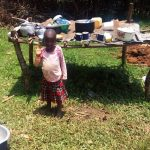 The Water Project: Ataku Community, Ataku Spring -  Dish Rack