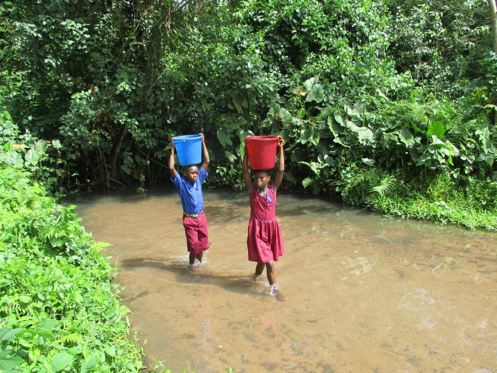 The Water Project : 12-kenya18276-carrying-water