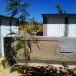The Water Project: Emusoma Primary School -  Finished Latrines