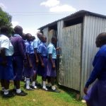 The Water Project: Eshisenye Girls Secondary School -  Latrines
