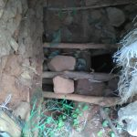 The Water Project: Mwichina Community -  Latrine Floor
