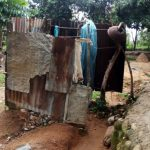 The Water Project: Ejinja Community -  Bathing Shelter