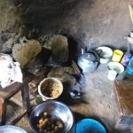 The Water Project: Sharambatsa Community, Mihako Spring -  Inside Kitchen