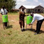 The Water Project: Shiyabo Secondary School -  Hand Washing Stations