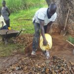 The Water Project: Shitoto Community A -  Spring Construction