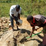 The Water Project: Mulundu Community -  Spring Construction