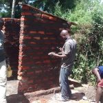 The Water Project: Ebusiratsi Special Primary School -  Latrine Construction