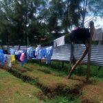 The Water Project: Eshisenye Girls' Secondary School -  Clotheslines