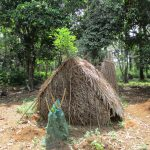 The Water Project: Kigbal Community -  Latrine