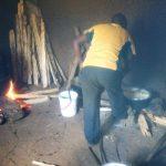 The Water Project: Eshisenye Girls' Secondary School -  Smoky School Kitchen
