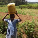 The Water Project: Sharambatsa Community, Mihako Spring -  Carrying Water